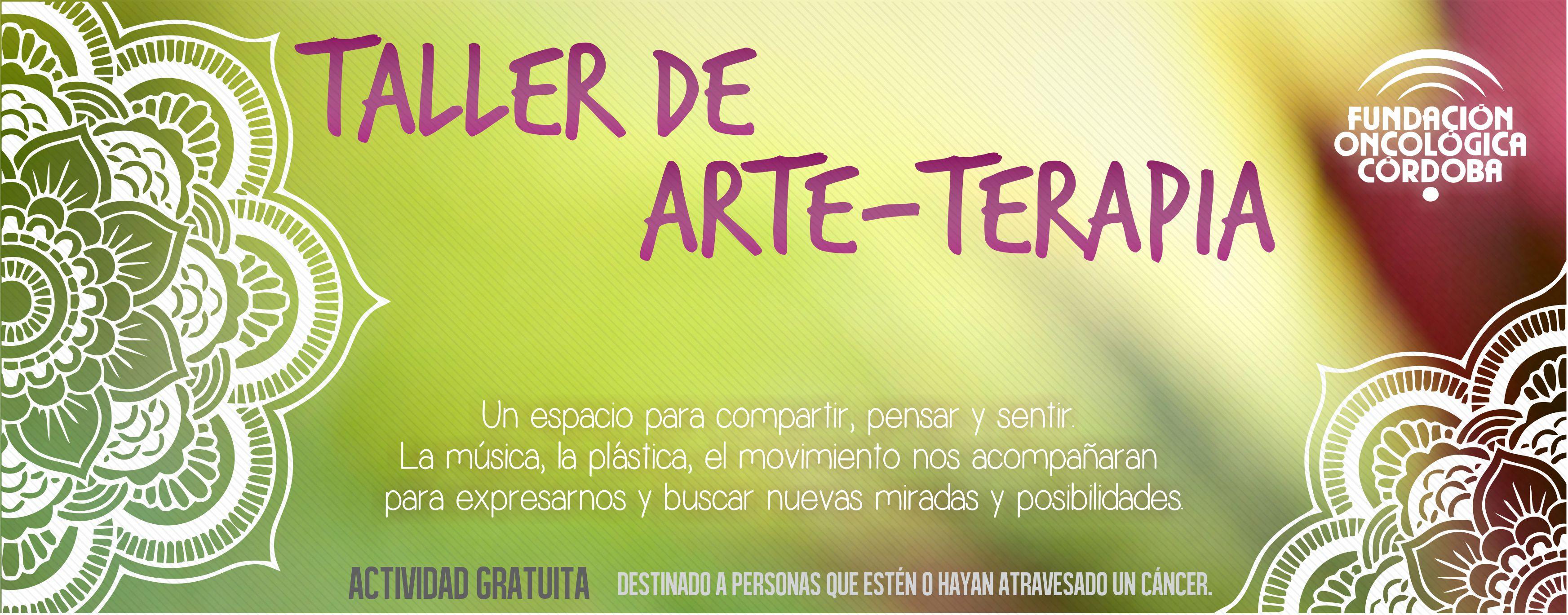 Taller de arte terapia focor for Taller de artesanias